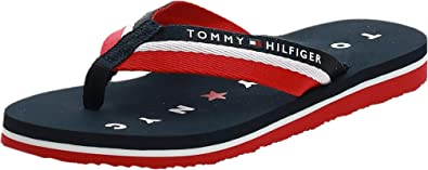 Tommy Hilfiger Tommy Loves NY Beach Sandal, Chanclas Mujer