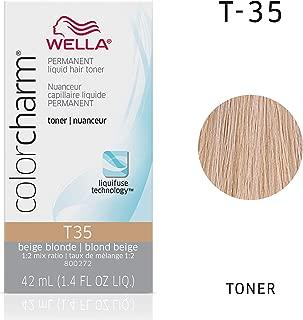 Wella Color Charm Permanent Liquid Hair Toner T-35, Imperial Blonde, 1.42 Fl Oz