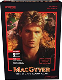 MacGyver: The Escape Room Game by Pressman