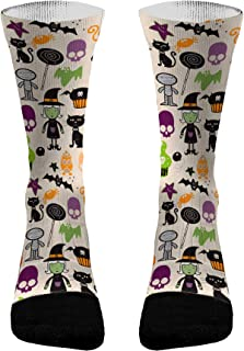 Halloween Squad Athletic Compression Dri-Fit Socks