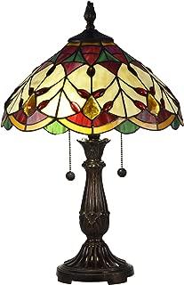 Dale Tiffany TT17076 Arizona Marshall Table Lamp, 21.5