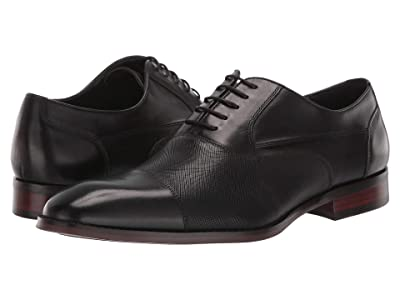 Steve Madden Proctr Oxford (Black Leather) Men