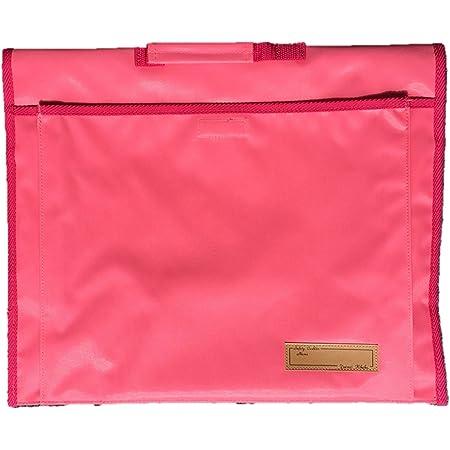背もたれ式防災頭巾用ポケット付カバー ピンク 約34×42cm 90056