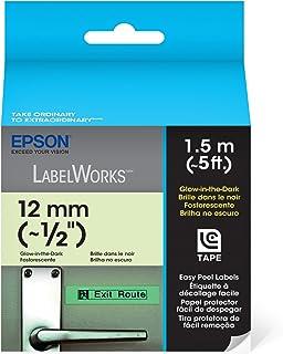 Fita Rotulador Epson LC-4ZBU1 12mm Brilha no Escuro