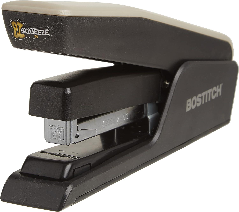 Bostitch EZ outlet Squeeze 50 Sheet Effort Stapler Minneapolis Mall Bl Desktop Reduced