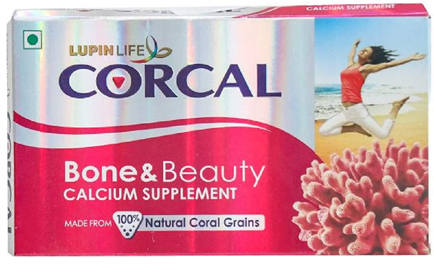 Lupinlife Corcal Bone & Beauty is the best calcium tablets for women india