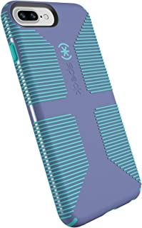 Speck Products CandyShell Grip Cell Phone Case for iPhone 8 Plus/7 Plus/6S Plus/6 Plus - Wisteria Purple/Mykonos Blue