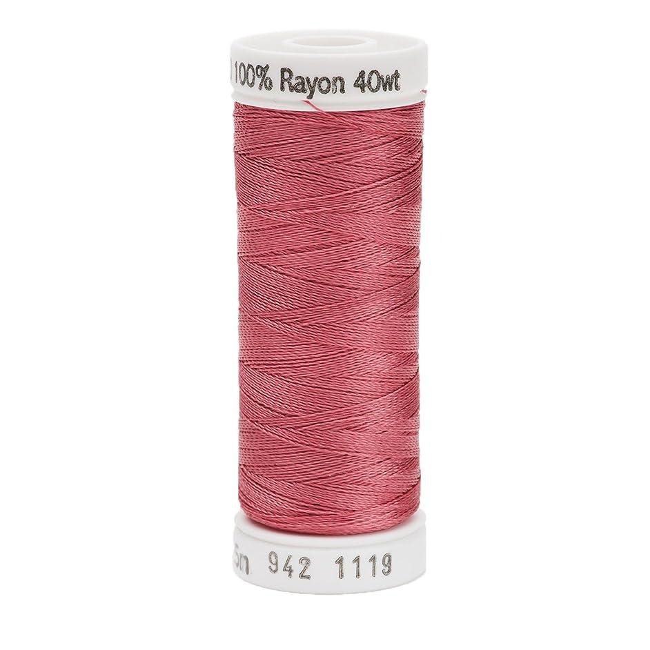 Sulky Rayon Thread for Sewing, 250-Yard, Dark Mauve