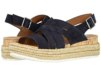 Trask Randi (Navy Oiled Suede) Women