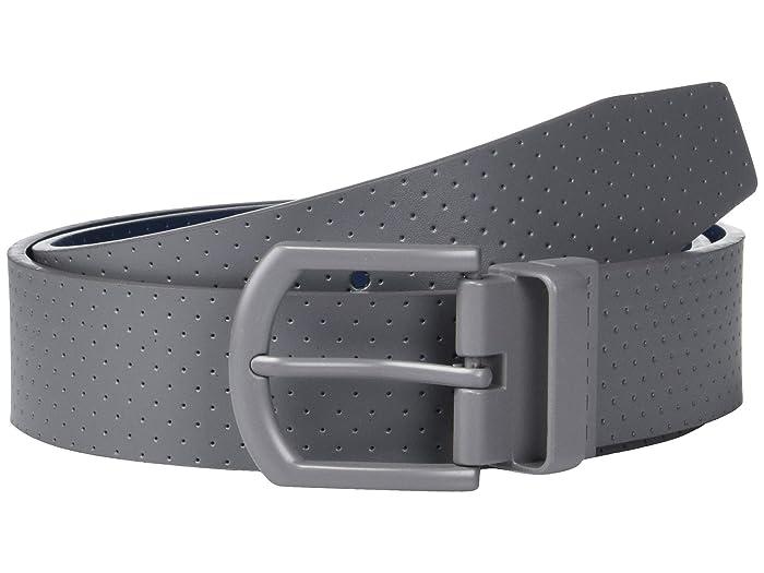 TravisMathew Tucker Belt (Grey Pinstripe) Men