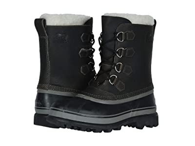SOREL Caribou Wool (Quarry/Black) Men