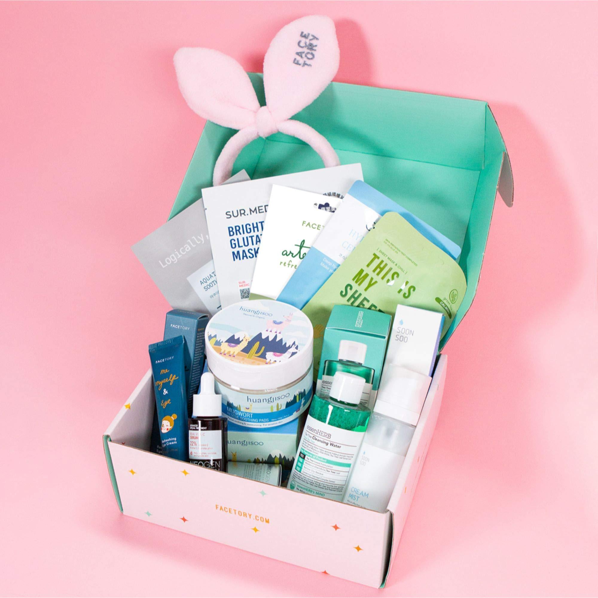 FaceTory K-Beauty Subscription Box