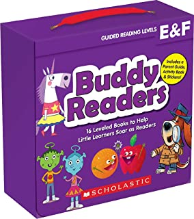 Buddy Readers: Levels E & F (Parent Pack): 16 Leveled Books to Help Little Learners..