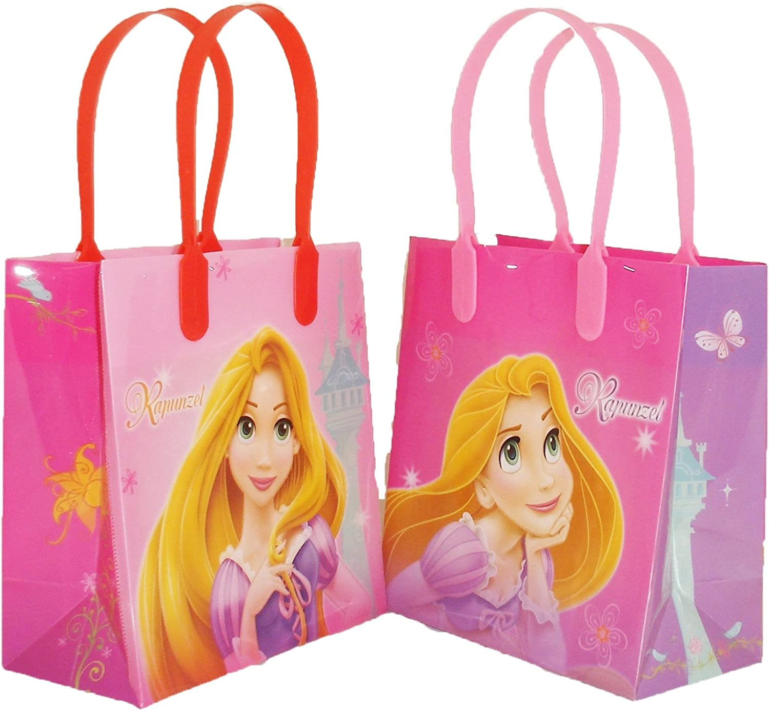 Disney Princess Rapunzel Party Favor Goodie Small Gift Bags 12 by Unknown