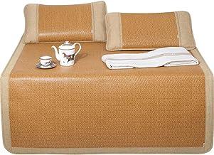 LITT Rattan Mat - Summer Thick Foldable Rattan Mat Air Conditioning Seats - Five Sizes Available Cool Mattress (Size : 180...