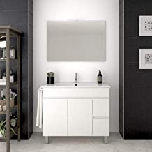 Amazon.es: mueble baño 100cm