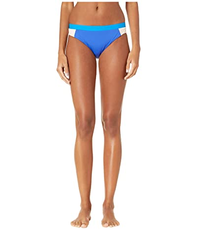 THE BIKINI LAB On the Block Cut Out Hipster Bottoms (Cobalt) Women