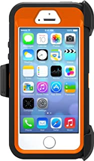 OtterBox Defender Series Case for Apple iPhone 5/5s/SE - Retail Packaging - Realtree Xtra (Blaze Orange/Black W/Realtree Xtra Design)