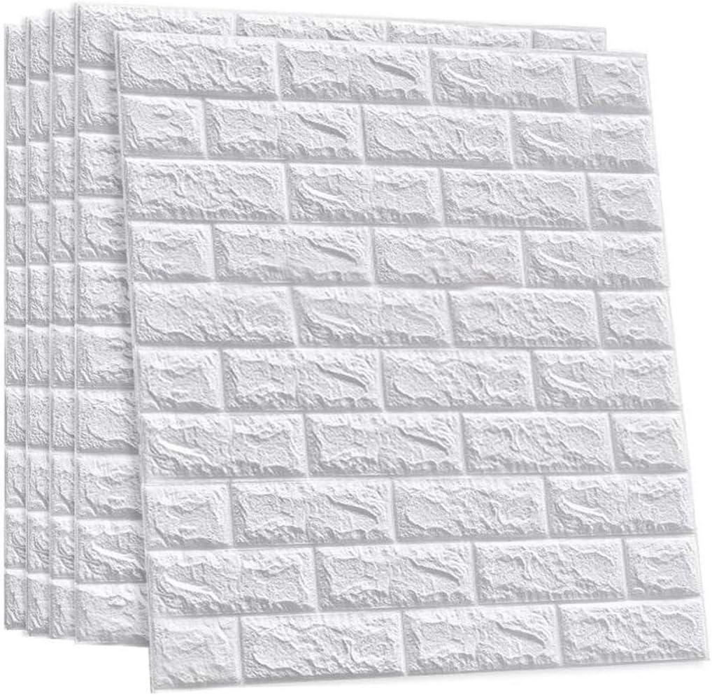 SS WANGZI 3D Brick Quantity limited OFFer 100PCS Paper Stickers Wall