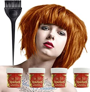 La Riche Directions Colour Hair Dye 4 Pack 88ml (Tangerine)