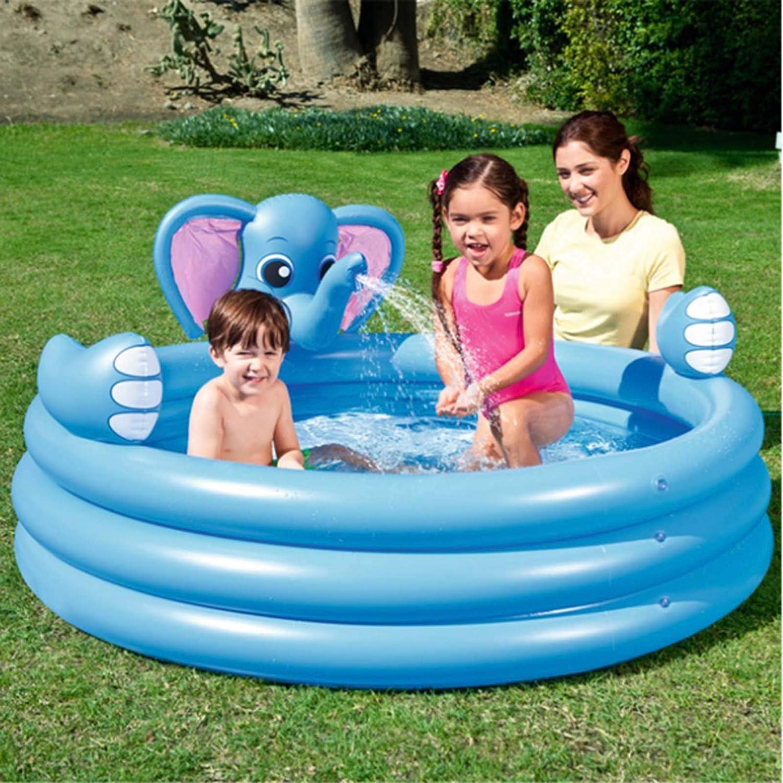 FDSAD Inflatable Elephant Max Super sale 53% OFF Three Ring Baby Paddling Pools Swimmin