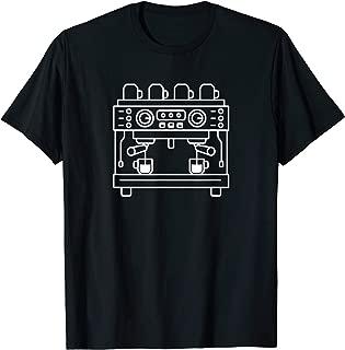 Funny Coffee Lover Double Espresso Machine T-Shirt