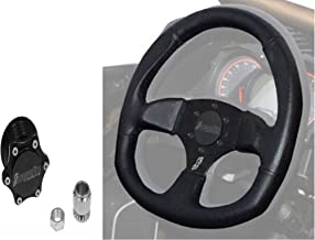 Quick-Release Steering Wheel Kit by Dragonfire Racing fits All Polaris UTV RZR 570 900 1000 XP Turbo Ranger General