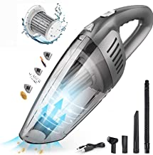 Handheld Vacuum Cordless 6000PA Super Suction Hand Vacuum Cleaner Rechargeable Lightweight Wet Dry Vacuum for Home Pet Ca...