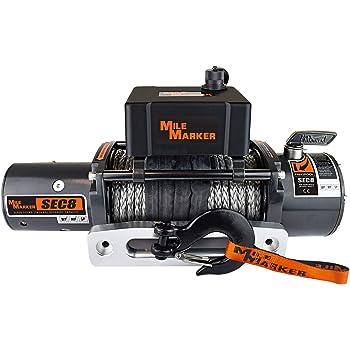 Mile Marker 77-50141W-50 Winch Remote Control For Use w//All Waterproof ES Winches Winch Remote Control