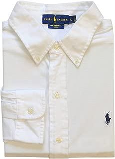 Ralph Lauren Mens Pique Lightweight Button-Down Shirt