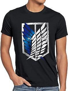 A.N.T. Titan Aufklärungstruppe Wappen AOT Herren T-Shirt on
