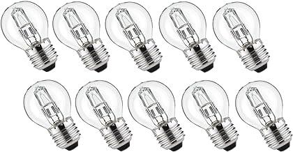 10 x halogeenlamp G45 E27 42W = 55W dimbaar warm wit | Luminizer 3060