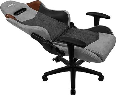 Aerocool DUKE, chaise de jeu, AeroSuede respirant, dossier réglable, gris