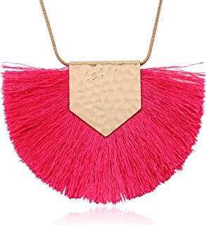 hot pink necklaces