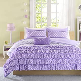 Mizone MZ10-231 Comforter Set, Twin/Twin X-Large, Purple