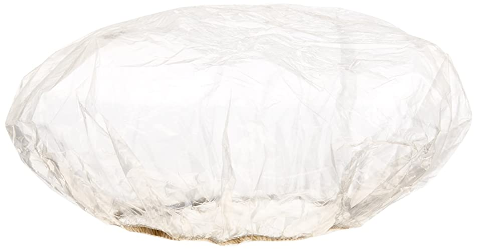 Medline NON24373 Single-Use Shower Caps, Clear (Pack of 500)