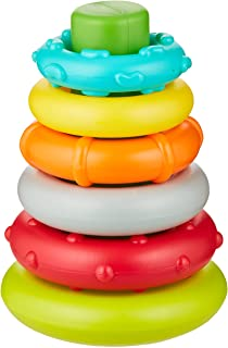 Infantino Rock'N Stack Rings |Baby Activity, Learning & Developing Toys|