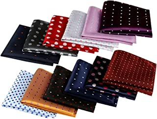 Jeatonge Pocket Square For Men Assorted 12 Pack (Style 01)