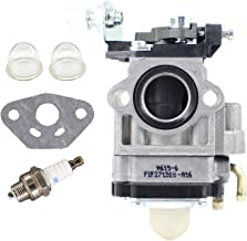 Pro Chaser 619-6a Carburetor with 15mm/0.59'' Big Bore Barrel for A021002040  Shindaiwa EB802 EB802RT Echo PB-755H PB-755SH PB-260I PB-260L PB-260L Backpack Blower Motor Gas 2 Cycle 43cc Southland Mini Cultivator S-CV-43 SCV43