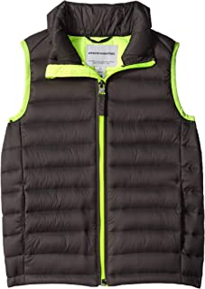 Boy's Lightweight Water-Resistant Packable Puffer Vest