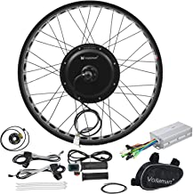 "Voilamart Electric Bicycle Kit 26"" Rear Wheel with 3.23"" Width Rim 48V 1000W E-Bike Conversion Kit, Cycling Hub Motor with..."