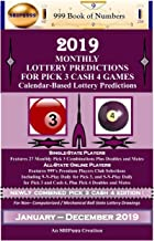 2019 Monthly Lottery Predictions for Pick 3 Cash 4 Games: Calendar-Based Lottery Predictions