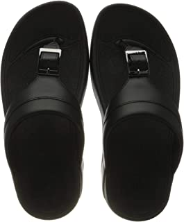 Fitflop Men's Cameron Embossed Toe-Thongs Flat Sandal