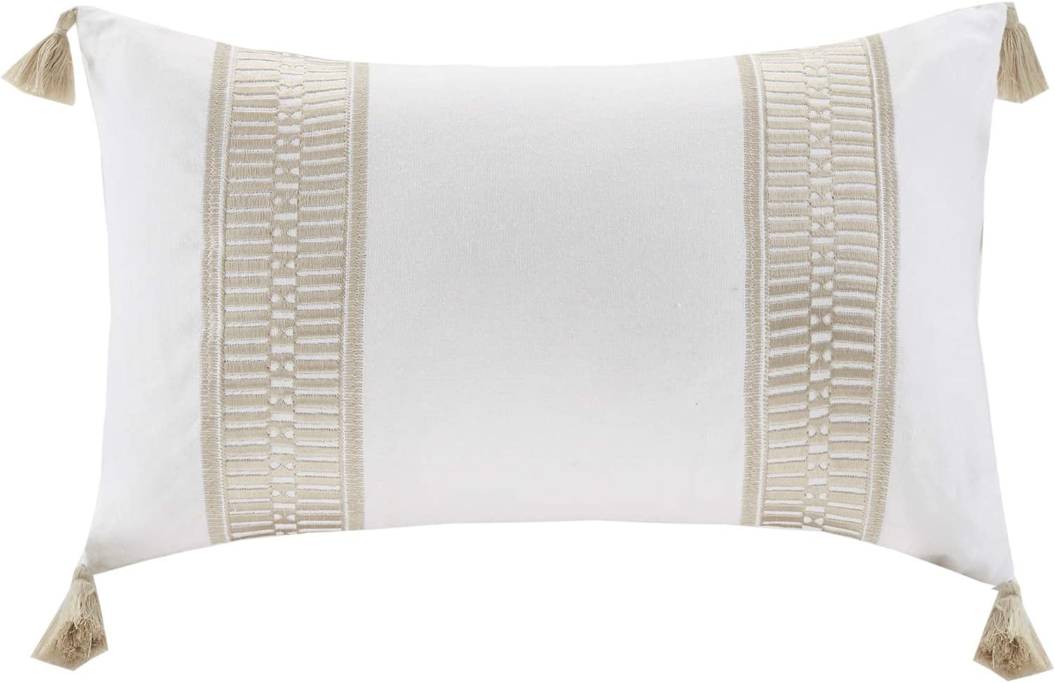 Taupe Harbor House Anslee Decorative Pillow