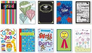 20PK BOXED GRADUATION CARDS Bulk WITH SENTIMENT – COLLEGE ELEMENTARY GRAD