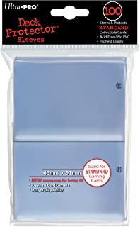 Ultra Pro Clear Standard Size Deck Protectors - 100 ct.