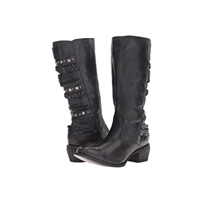 Old Gringo Mirrani (Black) Cowboy Boots