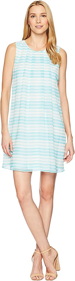 Calvin Klein Printed Sleeveless A-Line Dress