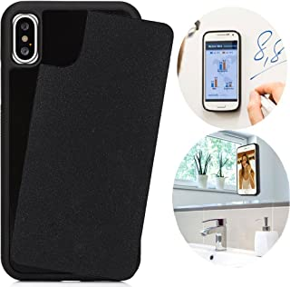 CloudValley Anti Gravity Case for iPhone Xs MAX (2018), Phone Cases Magical Nano Can Stick to Smooth Flat Surfaces - Black...
