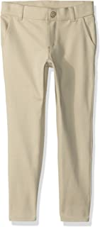 Girls' Big Uniform Long Ponte Knit Pant